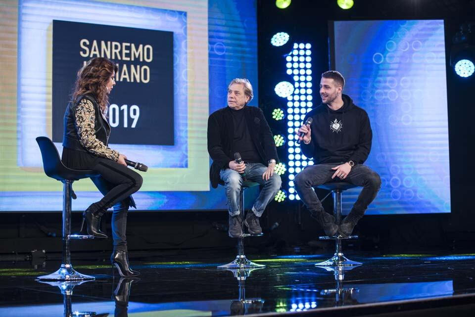 IL SANREMO ITALIANO 2019 CON NINO D'ANGELO E LIVIO CORI