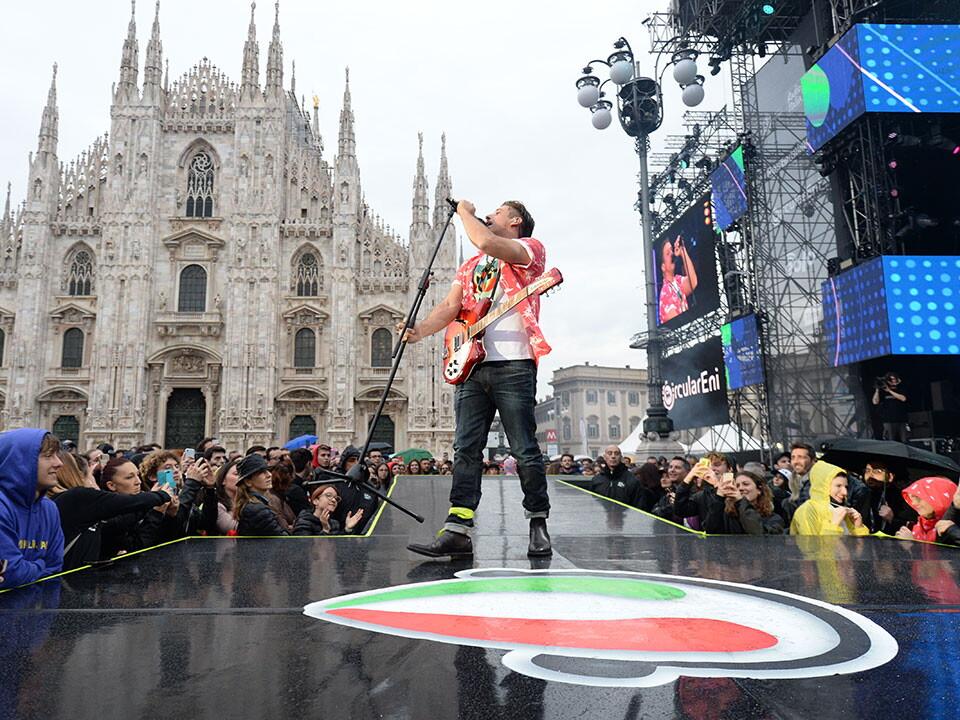 FRANCESCO GABBANI A RADIO ITALIA LIVE IL CONCERTO 2019 MILANO
