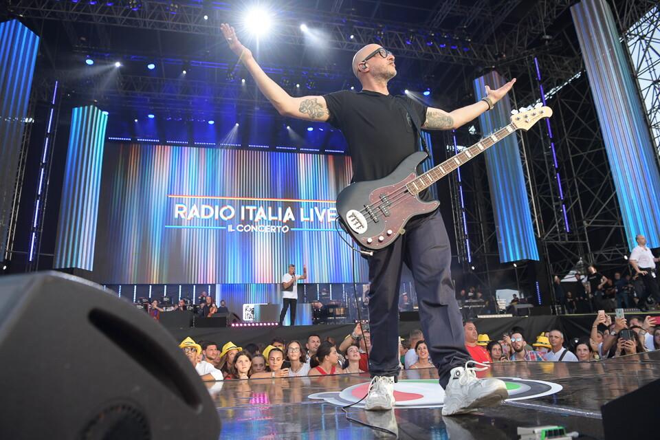 SATURNINO A RADIO ITALIA LIVE IL CONCERTO 2019 PALERMO