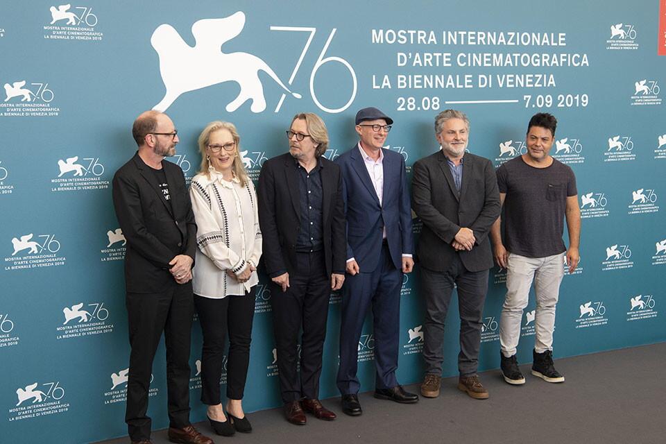THE LAUNDROMAT #Venezia76 (01/09/2019)