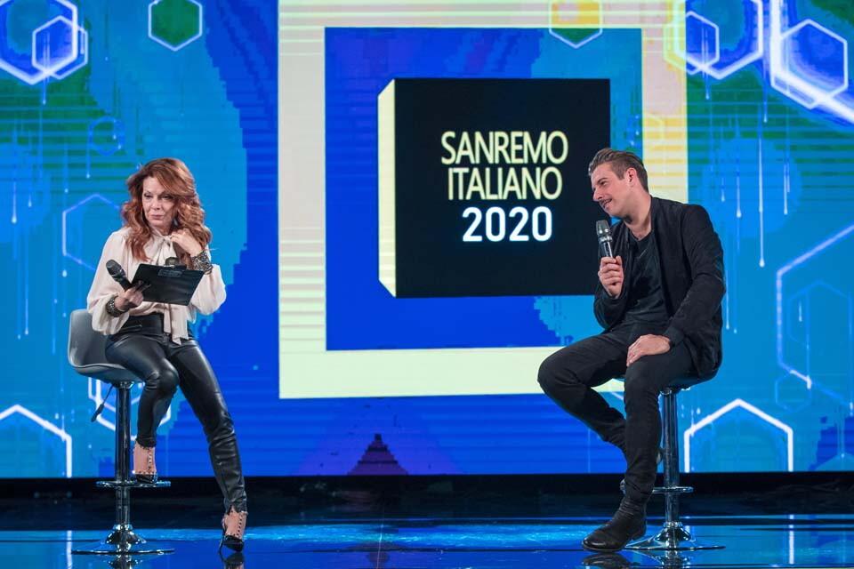 IL SANREMO ITALIANO 2020 CON FRANCESCO GABBANI