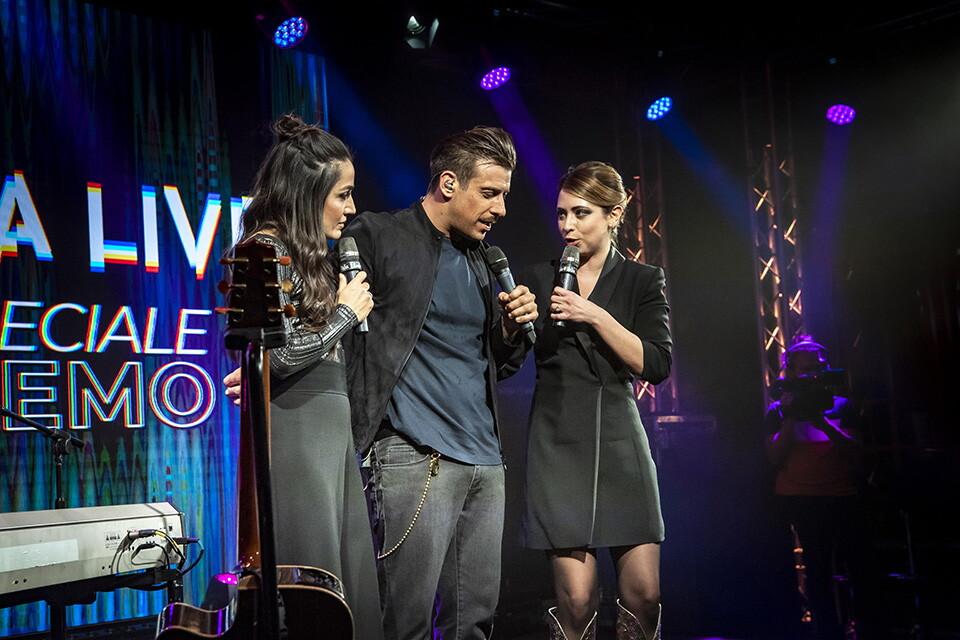 FRANCESCO GABBANI A RADIO ITALIA LIVE (Speciale Sanremo 2020)