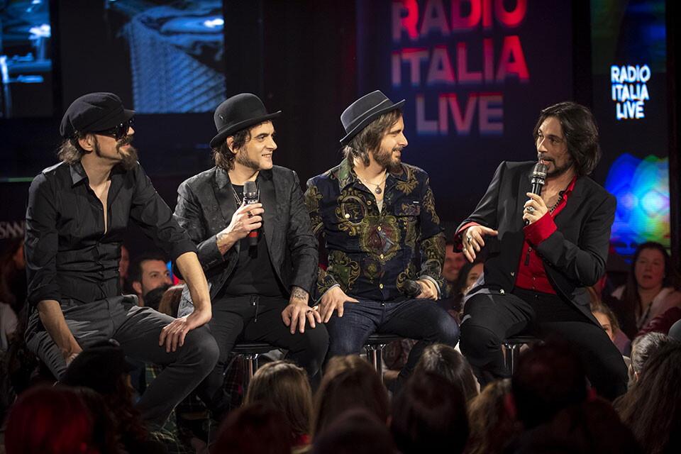 LE VIBRAZIONI A RADIO ITALIA LIVE (12^ Stagione)