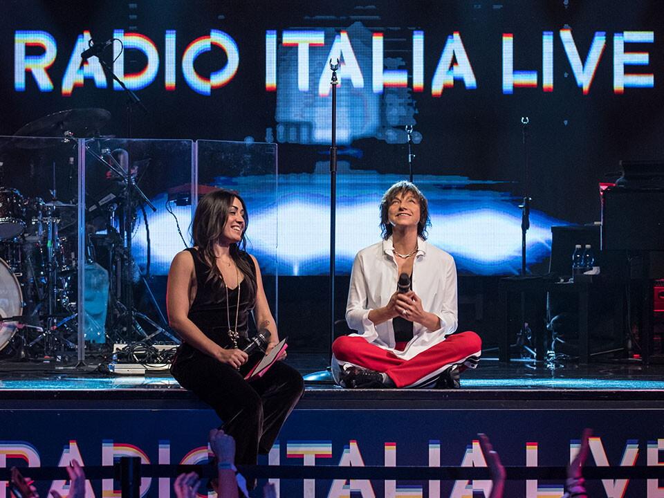 GIANNA NANNINI A RADIO ITALIA LIVE (10^ stagione)