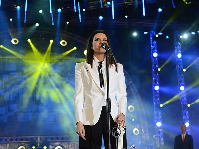 LAURA PAUSINI A RADIOITALIALIVE IL CONCERTO 2014