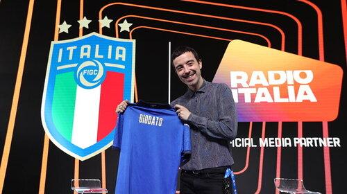 I rigori di Diodato da Casa Azzurri con Radio Italia
