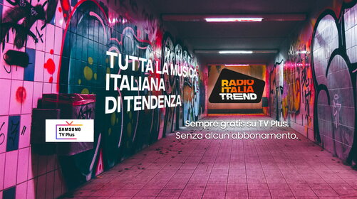 RADIO ITALIA TREND SU SAMSUNG TV PLUS