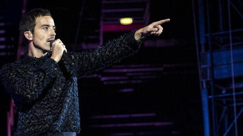"""Diodato: la festa all'Arena di Verona e il Triplo Platino di """"Fai rumore"""""""